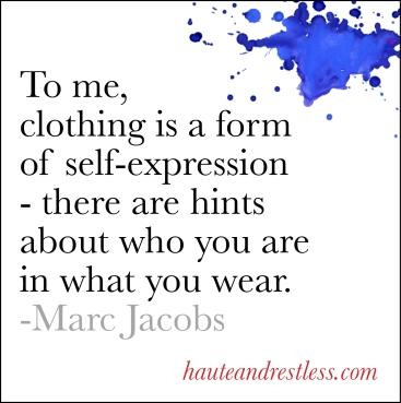 Marc Jacobs on Style